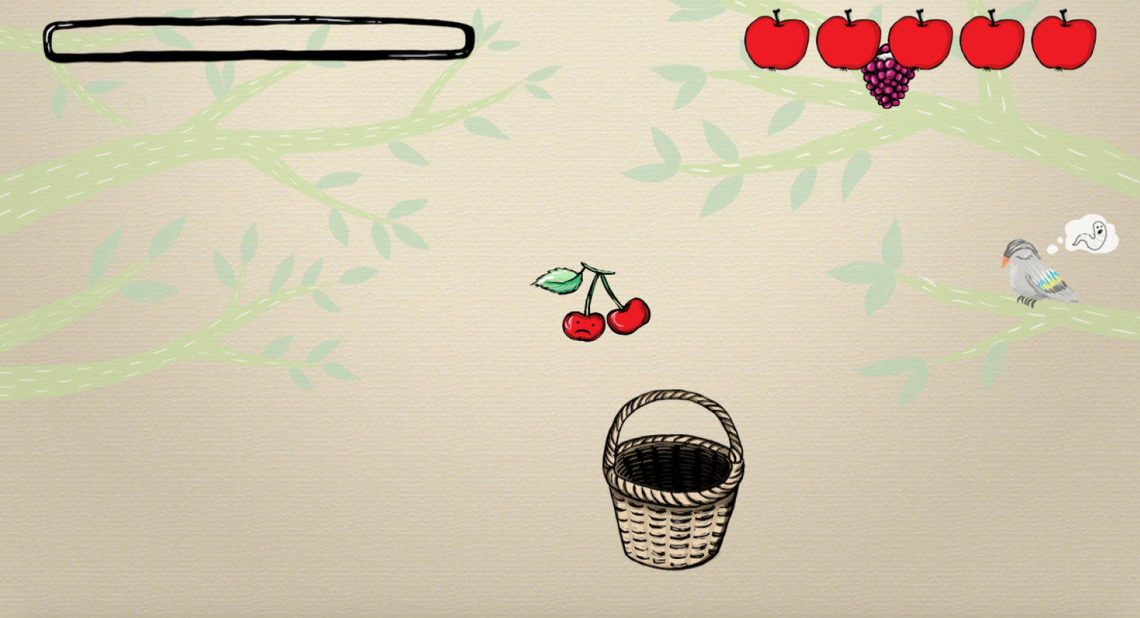 interactive, game, fruit, sklizeno