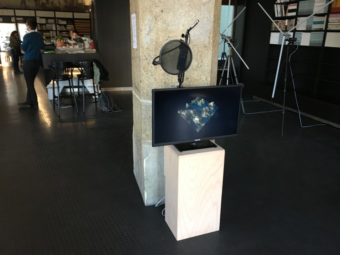 interactive, installation, sensorium 2016, mlady pes
