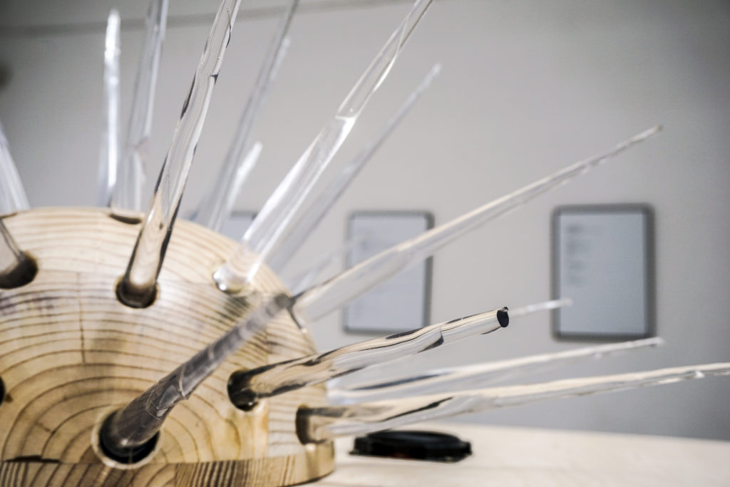 rene beekman, interactive installation, gallery, object, Reaktiv